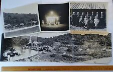 RARE Old Photo Archive LOT - Beers Farm - Drake Well Cherry Run Oil City PA 1922