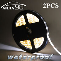 Warm White Waterproof 3528 SMD 300LED 5M Flexible Light Strip for Xmas Party