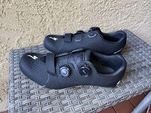 Specialized Torch 3.0 Men's Road Cycling Shoe Size US 9/EU 42 Black Near Mint