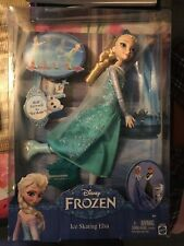 Disney Frozen Ice Skating Elsa Doll - CBC63 - New