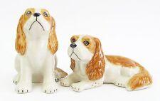 Cavalier King Charles Spaniel Dog Salt & Pepper Shakers - Ceramic