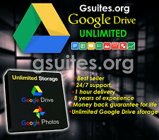 Gsuites.org - Unlimited Google Drive - 1 year - 100% ban proof - new product