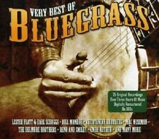 Very Best Of Bluegrass 3-CD NEW SEALED Remastered Country Bill Monroe/Roy Acuff+
