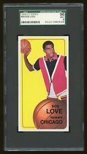 1970 Topps Basketball #84 Bob Love Chicago Bulls 2nd year SGC 96 Mint 9
