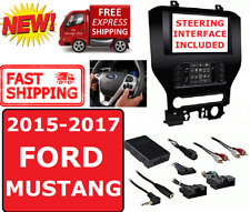 2015-17 FORD MUSTANG DOUBLE DIN 2DIN CAR RADIO STEREO INSTALLATION DASH KIT