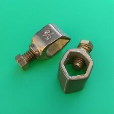 """(1 PC) Perfect Vision Copper Grounding Clamp for 5/8"""" Ground Rod"""