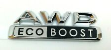 2015 2016 2017 Lincoln MKC AWD Eco Boost chrome rear hatch Nameplate Emblem OEM