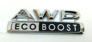 2015 2016 2017 Lincoln MKC AWD Eco Boost chrome rear hatch Nameplate Emblem OEM