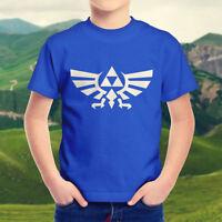 The Legend of Zelda Wingcrest Shield Nintendo Kids Boys Youth Teen Tee T-Shirt