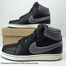 NIKE BACKBOARD II 2 MID TRAINERS WOMENS BLACK RETRO VINTAGE SHOES UK 6 RRP £60