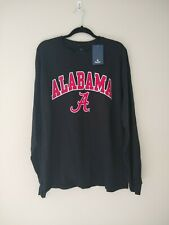 Fantastic Sports NWT Alabama Crimson Tide Long Sleeve Crew Neck T Shirt Mens XL