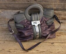 Vintage Guess by Marciano 80's Mauve Leather Purse Tote