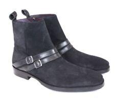 Noah Waxman Suede Leather Ankle Boots Navy Size uk 7 eu 41