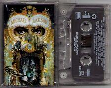 "Michael Jackson ""Dangerous"" Cassette 1991 EPIC Free Shipping in USA"