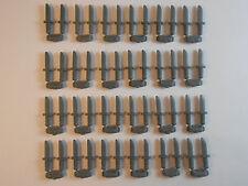 LEGO KINFES LOT OF 24 ON SPRUE. 48 KNIFES STAR WARS INDIANA JONES BATMAN NEW!
