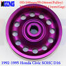 Underdrive  D16 L-Weight Racing Crankshaft Pulley For Honda 92-95 Civic SOHC  pl