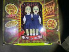 Living Dead Dolls Resurrection Hazel & Hattie-Rare Only 90 Worldwide! Gitd