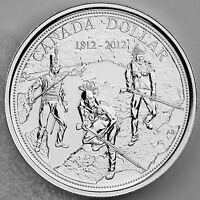2012 $1 War of 1812 200th Anniversary Brilliant Uncirculated .9999 Pure Silver