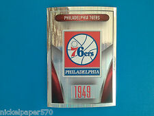 2014-15 Panini NBA Sticker Collection N. 50 PHILADELPHIA 7ERS LOGO