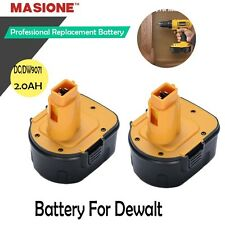 2Pack 12V Ni-CD 2.0AH Battery For Dewalt DC9071 DW9072 DW9071 DW052 12 Volt Tool