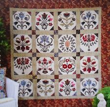 MORRIS BROCADE - applique QUILT PATTERN - Michele Hill JUST RELEASED