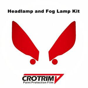 Paint Protection Film Headlight & Fog Light Kit For Subaru Forester 2014-2018