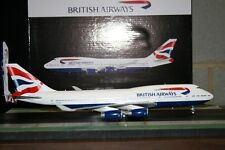 Gemini Jets 1:200 British Airways Boeing 747-400 G-BYGE (G2BAW634) Model Plane