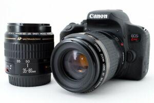Canon EOS Rebel T7i/800D/Kiss X9i 24.2MP 35-80/80-200mm [Exc w/8GB SD [896]