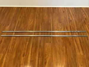 Datsun 510 68-73 NOS Rocker Sill Trim with Clips and Ends NLA