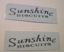 Metal Craft sunshine biscuit water slide decal set