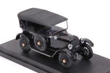 Fiat 501 'LA SAETTA DEL RE' 1919 Black 1:43 Model RIO