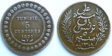 Tunesien 5 Centimes 1891A  Bro