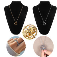 Astronomical Sphere Ball Ring Cosmic Finger Ring Necklaces Couple Lover Gift