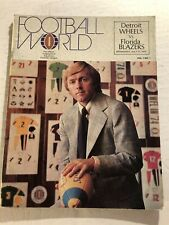 1974 World Football League DETROIT WHEELS vs FLORIDA BLAZE WFL 7/17/74 Inaugural