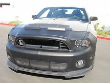 Colgan Front End Mask Bra 2pc. Fits Ford Mustang Shelby GT500 2013-2014 W/O Tag