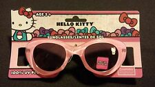 Hello Kitty Plastic Sunglasses For Small Kids Ages 3+ 100% UV Protection