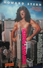 Howard Stern Signed Private Parts Movie Poster 27x41