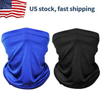 Face Mask Gaiter Biker Scarf Tube Bandana Beanie Cover Cap Outdoor Headwrap