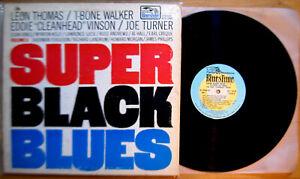 "Super Black Blues: Volume II Leon Thomas T-Bone Walker ""Cleanhead"" Vinson NM"