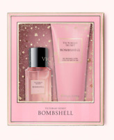Victoria Secret Bombshell Fine Fragrance Duo Gift Set Lotion and Mist New Box