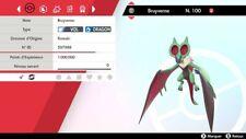 Pokemon BRUYVERNE shiny 6IV + masterball - Battle Ready - Epée/Bouclier
