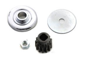 Generator Gear Washer Install Kit 13 Tooth Harley 58-69 Panhead Shovelhead FL 74
