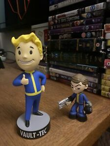 Fall Out fallout Vault Boy Tec Bobblehead And Figure