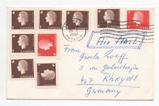 1967 CANADA Air Mail Cover ISLINGTON ONTARIO To RHEYDT GERMANY