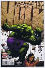 Totally Awesome Hulk #23 Last Issue VFNM Signed w/COA Frank Cho 2017 Marvel
