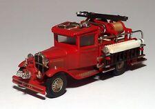 CUSTOM WEATHERED 1932 FORD MODEL AA FIRE  TRUCK 1/43 O scale  On30  On3