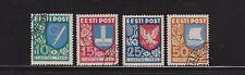Gestempelte Briefmarken aus Estland als Satz
