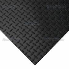 1m Long x 1.5m Wide 3mm Thick Rubber Matting for Home Gym Work Office Warehouse