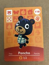 Poncho Amiibo Card