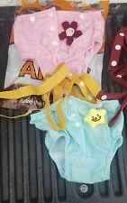 Alfie Pet Diaper Dog Sanitary Panty with Suspenders Size Large Set of 2